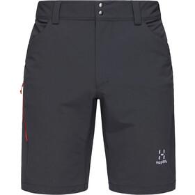 Haglöfs Morän Shorts Men, magnetite/habanero
